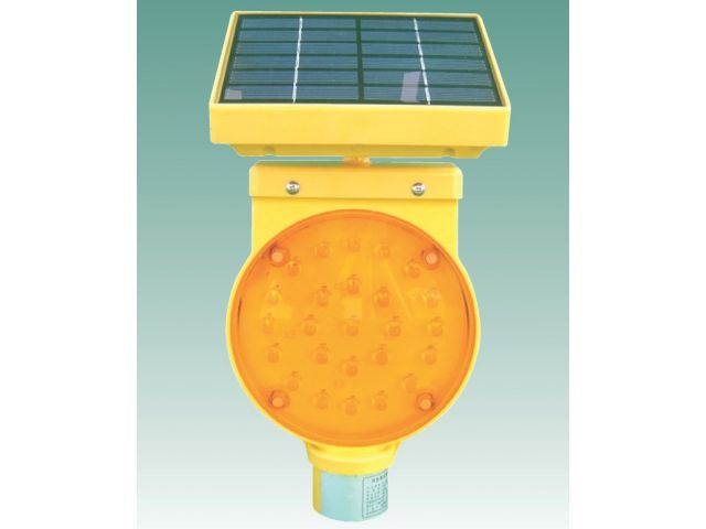 Signalinis +ibintas su saules baterija