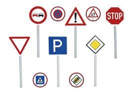 Standartiniai kelio ženklai 1